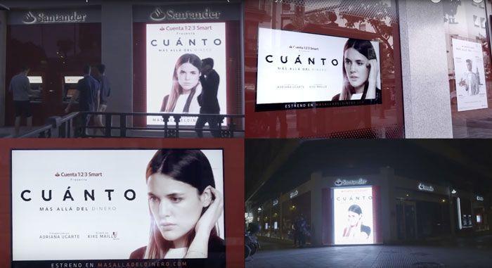 Branded content del Banco Santander